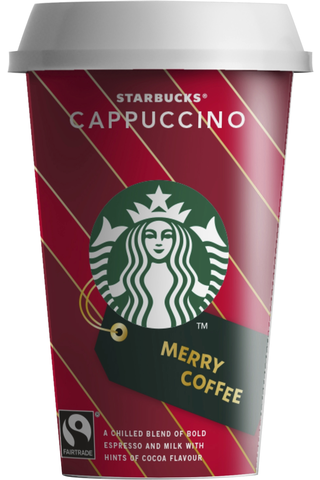 Starbucks 220 ml Cappuccino kahvi- ja maitojuoma