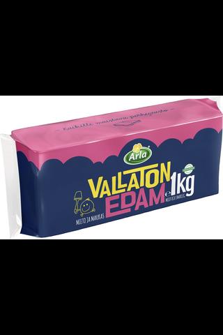 Arla Vallaton 1 kg Edamjuusto