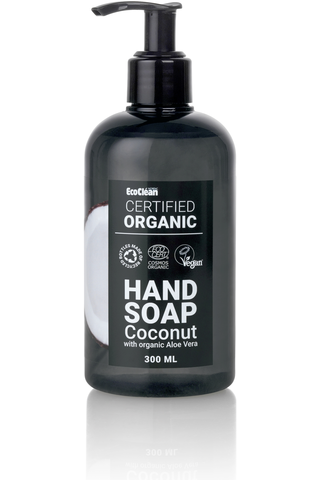 Hand soap organic coconut 300 ml