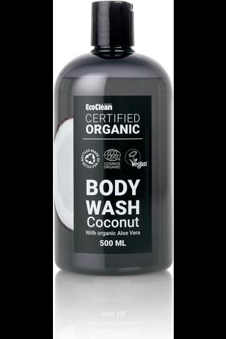 Bodywash organic coconut 500 ml