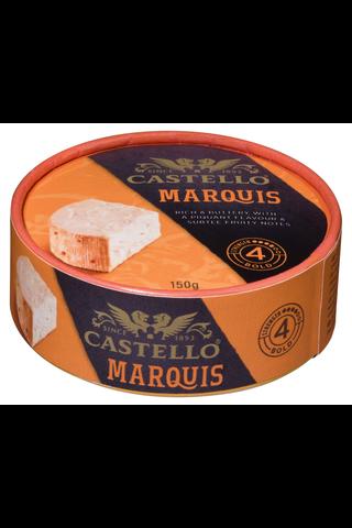 Castello Marquis 150 g punakittipintainen valkohomejuusto
