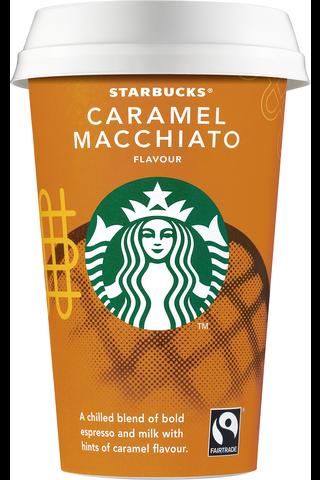 Starbucks 220 ml  Caramel Macchiato kahvi- ja maitojuoma