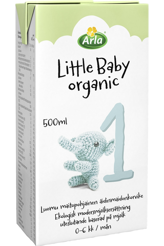 Arla Little Baby 1 500 ml Luomu UHT maitopohjainen käyttövalmis  äidinmaidonkorvike