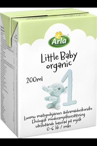 Arla Little Baby 1 200 ml  Luomu maitopohjainen käyttövalmis UHT äidinmaidonkorvike