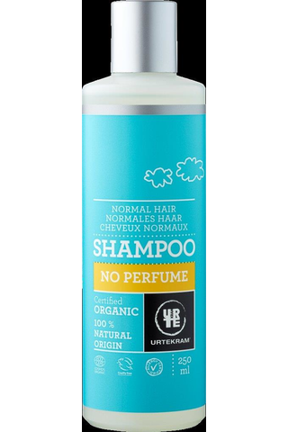 Urtekram luomu No Perfume shampoo  250ml