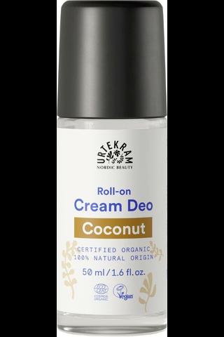 Urtekram luomu kokos cremedeorantti 50ml
