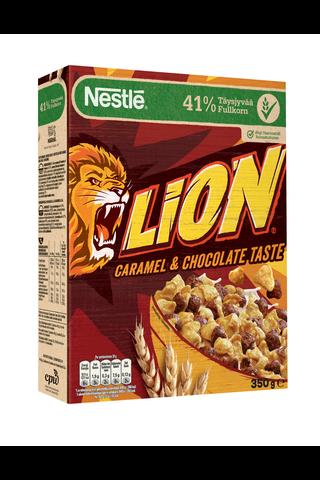 Nestlé Lion 350g täysjyvämuroja suklaa-toffee
