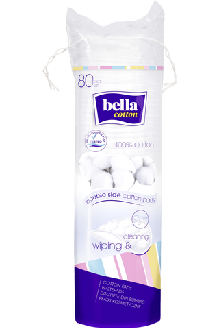 Bc cotton pads round 80pcs
