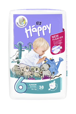Happy diapers  extra