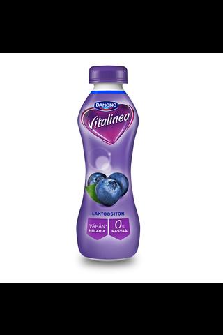 Danone Vitalinea 310g jogurttijuoma mustikka 0%