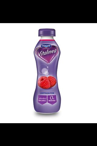 Danone Vitalinea 310g jogurttijuoma vadelma 0%