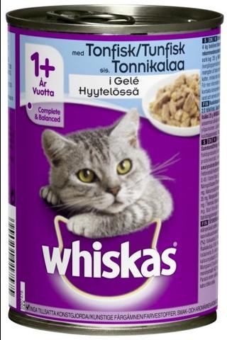 Whiskas Tonnikalaa hyytelössä 400g