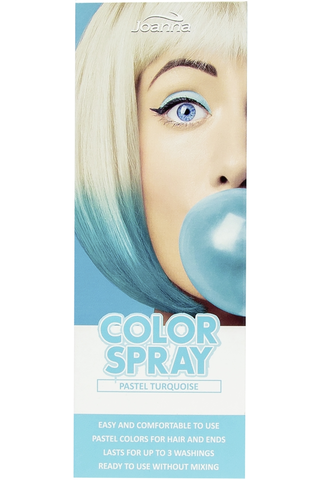 Joanna 150ml Pastel turquoise color hair spray