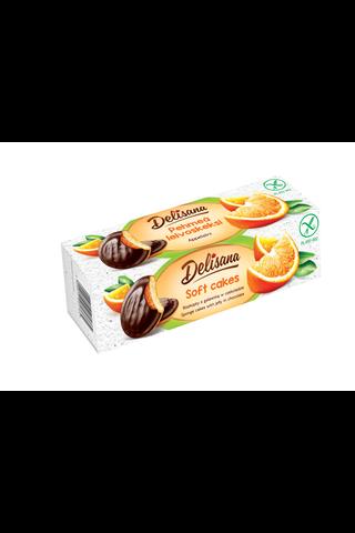 Gluteeniton appelsiinikeksi suklaakuorrutteella 150g