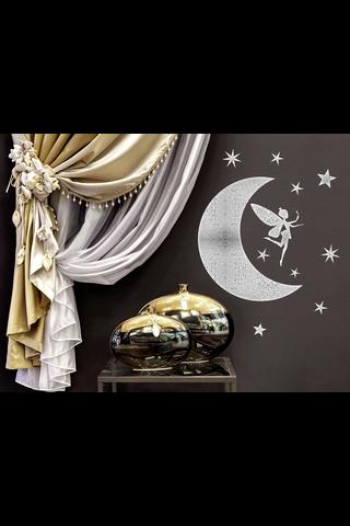 Forwall sisustustarra kuu, tähdet & keiju