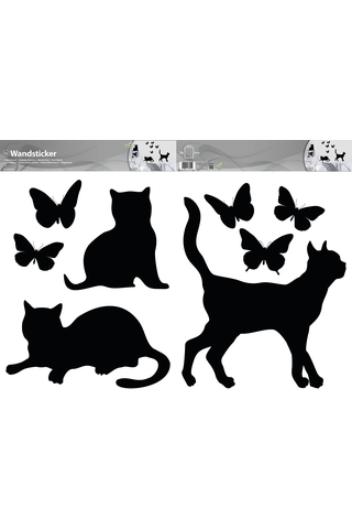 Forwall sisustustarra kissa & perhonen