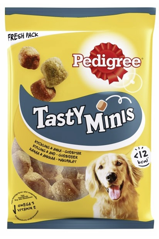 Pedigree Tasty Minis Chewy Cubes 130g