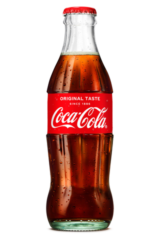 Coca-Cola Original Taste virvoitusjuoma lasipullo 0,25 L