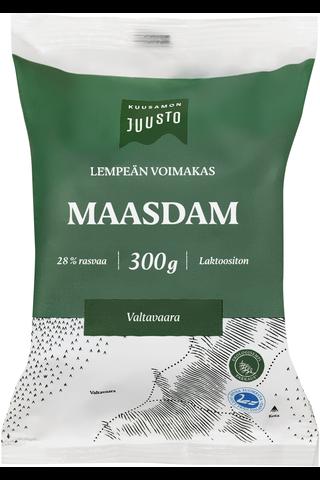 Kuusamon 300g Maasdam 28% juusto