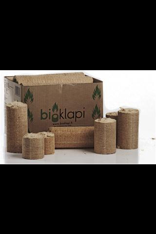 Puubriketti Bioklapi noin 13 kg