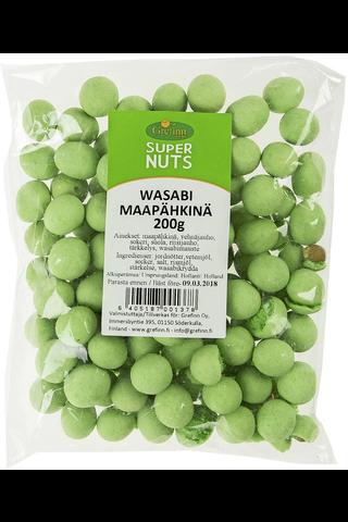 Supernuts 200g wasabimaapähkinä