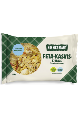 Kokkikartano 300g feta-kasviskiusaus