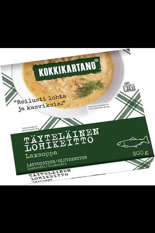 Kokkikartano Täyteläinen lohikeitto 300g