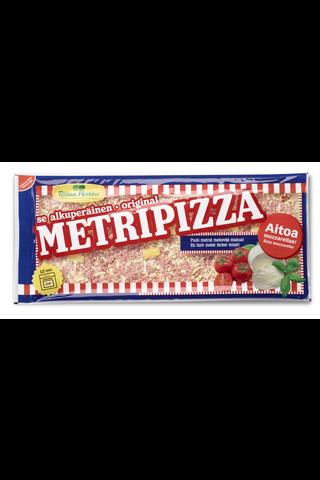 Riitan Herkku Metripizza 750g Härmäläänen kinkku-metwursti-ananaspizza
