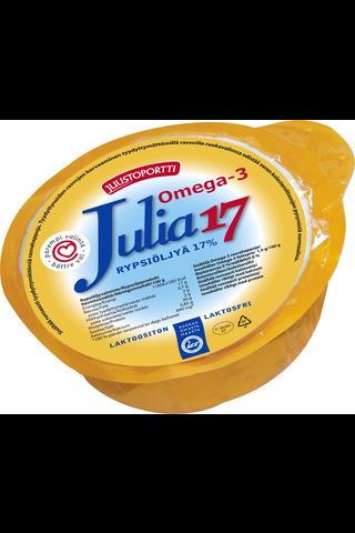 Juustoportti Julia rypsiöljyvalmiste 17 % 460 g laktoositon