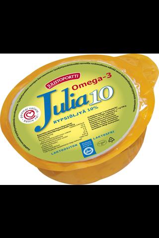Juustoportti Julia rypsiöljyvalmiste 10 % 440 g laktoositon