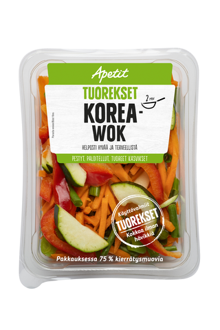 Apetit Tuorekset 200g Korea wok