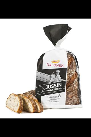 Perheleipuri Salonen Jussin moniviljaleipä 500 g moniviljaleipä