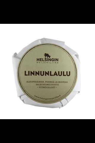 Helsingin Meijeriliike 160g Linnunlaulu perinteinen valkohomejuusto