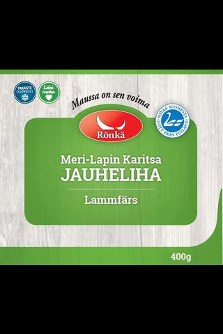 Rönkä Meri-Lapin Karitsa jauheliha 400g pakaste