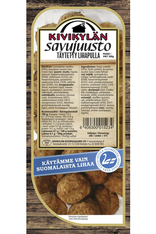 Täytetyt Savujuusto lihapullat