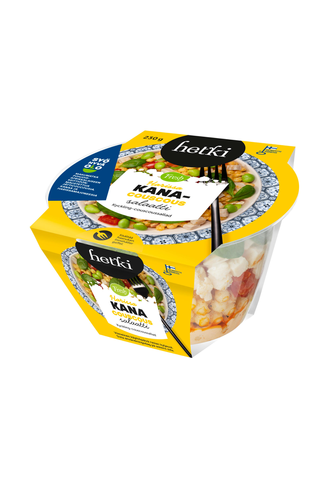 """Fresh Hetki Kerrossalaatti Kana-couscous """"Harissa"""" 230g"""