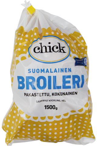Chick Kokonainen Broileri Pakaste 1500g