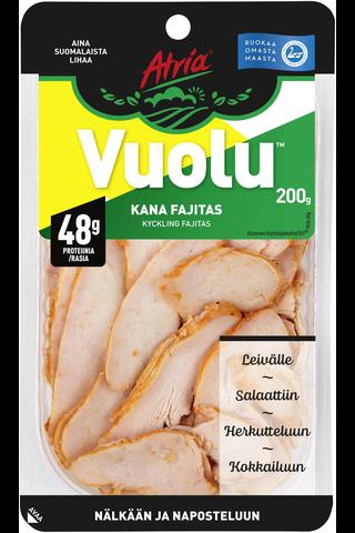 Atria Vuolu Kana Fajitas 200g