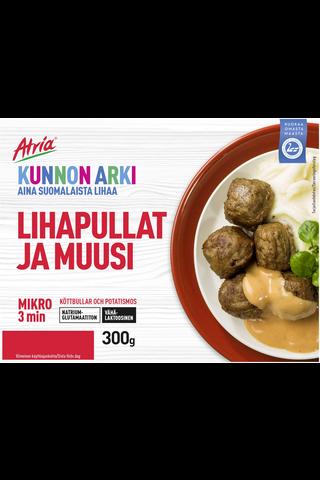 Atria Kunnon Arki 300g Lihapullat ja Muusi