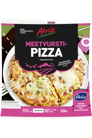 Atria 200g Meetvurstipizza