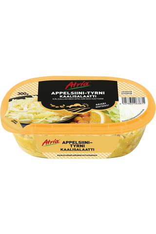 Atria Appelsiini-Tyrni Kaalisalaatti 300g