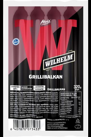 Atria Wilhelm 320g Grillibalkan