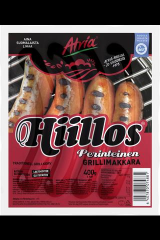 Atria Hiillos Grillimakkara 400g