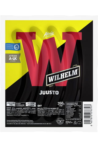 Atria Wilhelm 350g Juusto