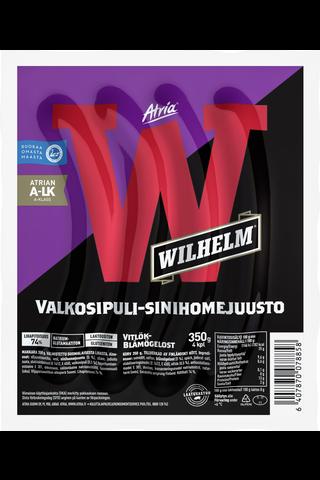 Atria Wilhelm 350g Valkosipuli-sinihomejuusto