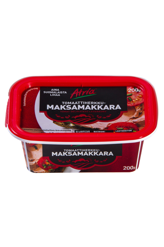 Atria Levitettävä Tomaattiherkkumaksamakkara 200g
