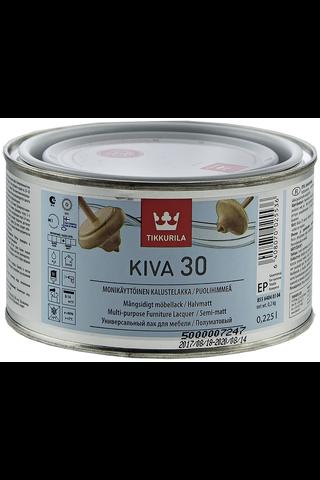 Tikkurila Kiva 30 kalustelakka 0,225l EP sävytettävissä puolihimmeä