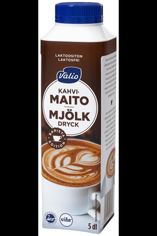 Valio 5dl kahvimaito laktoositon