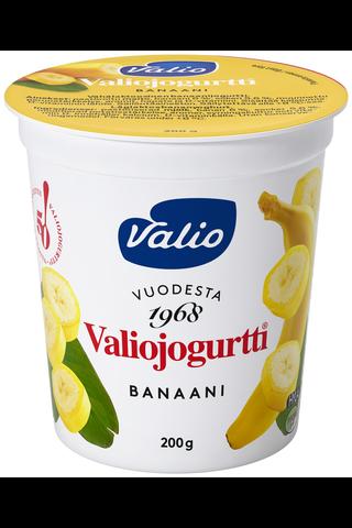 Valiojogurtti 200g banaani HYLA