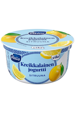 Valio 150g kreikkalainen jogurtti sitruuna laktoositon
